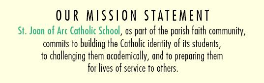 SJA School Mission Statement