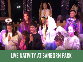 2015 Christmas Live Nativity at Sanborn Park Thumbnail