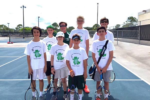 2016_St. Joan Boys Tennis Team